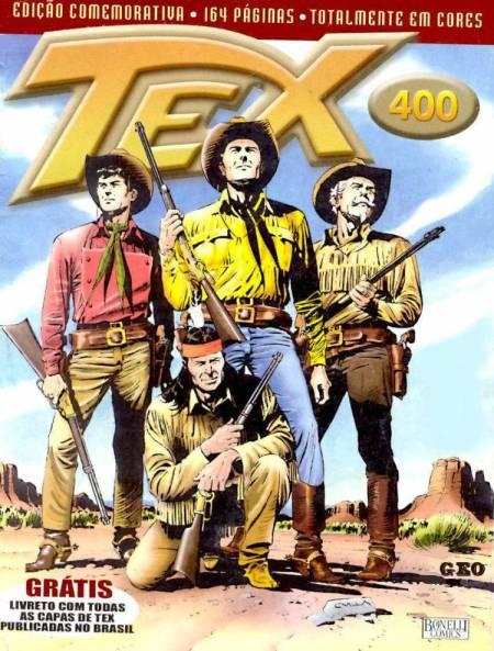 Tex 400 – Homens em Fuga (Mythos Editora)